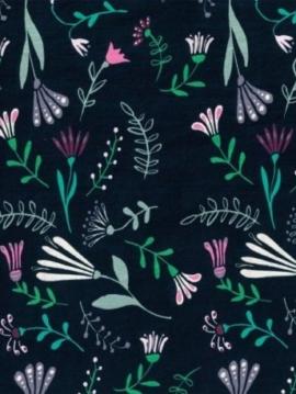 tissu-coton-bio-gots-bouquet-printanier