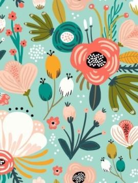 tissu-coton-gots-flower-power-dakota-premium